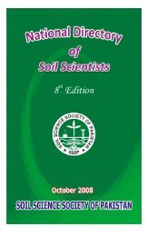 Free Download - Soil Science Society of Pakistan