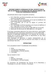 Informe sobre el borrador de real decreto por - FETE-UGT