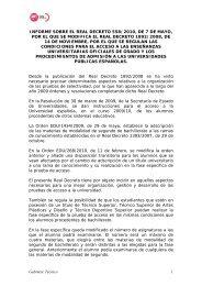 Gabinete Técnico 1 INFORME SOBRE EL REAL ... - FETE-UGT