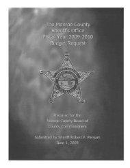 Jeryam, Sheriff - Monroe County Sheriff's Office