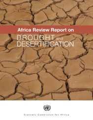 drought desertification - United Nations Economic Commission for ...