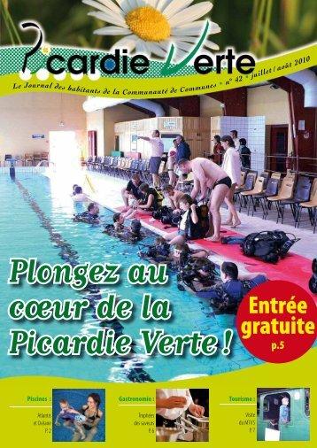 Entrée gratuite - Communauté de Communes de la Picardie Verte