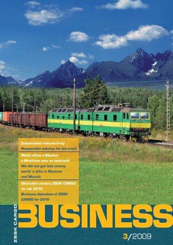 CARGO BUSINESS 3-09.indd - ZSSK Cargo