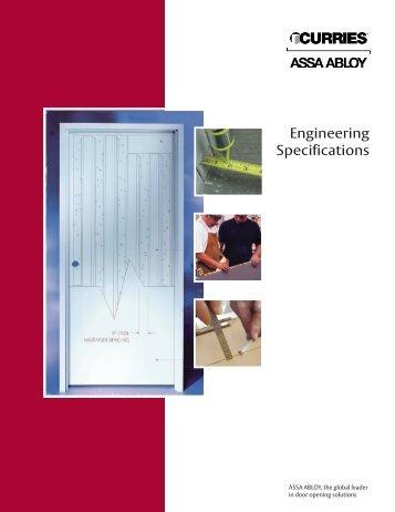 Engineering Specifications Brochure - Curries