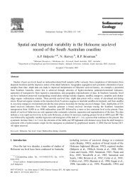 Spatial and temporal variability in the Holocene sea-level record of ...