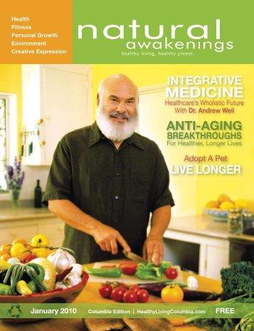 For Healthier, Longer Lives - Columbia Natural Awakenings–Home