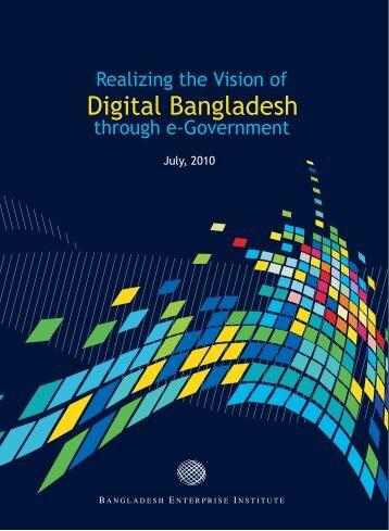 Digital Bangladesh - Bangladesh Enterprise Institute