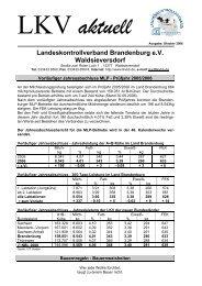 vorläufig - Landeskontrollverband Brandenburg eV