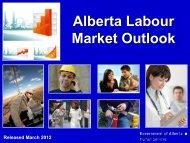 Alberta Labour Market Outlook - March 2012