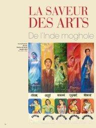 La saveur des arts - Magazine Sports et Loisirs