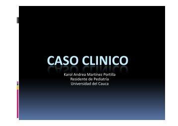 CASO CLINICO ESTREÑIMIENTO - Facultad Ciencias de la Salud