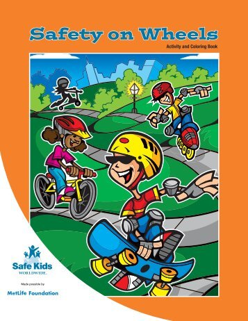 Safety on Wheels Activity Book - Safe Kids Worldwide