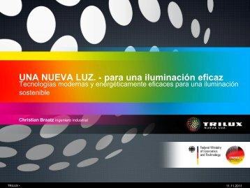 Soluciones de iluminación eficientes para la rehabilitación de edificios