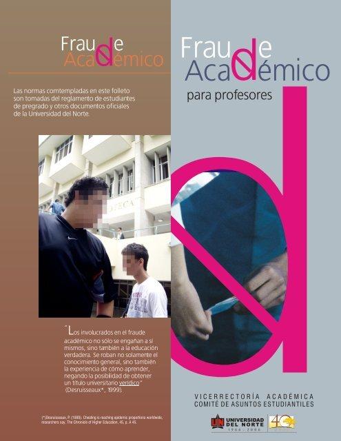 fraude (profesores).cdr - Universidad del Norte