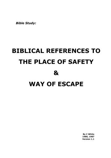 BIBLICAL REFERENCES TO THE PLACE OF ... - Origin of Nations
