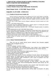 İçme Suları-Kaynak Suları-Doğal Mineralli Sularda Tesis Ve İşletme ...