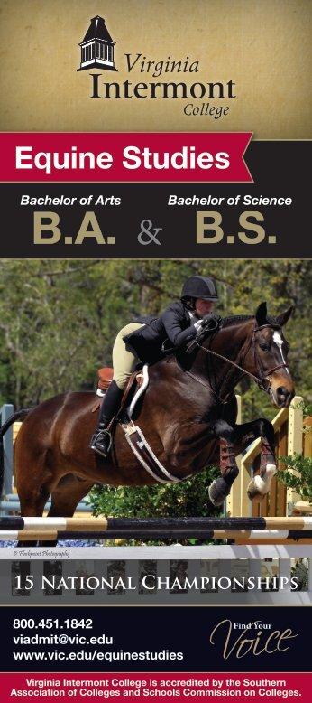 Equine Studies BABS - Virginia Intermont College