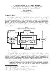 el espacio europeo de educación superior - Encuentros ...