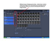 Image processing using ZEN software