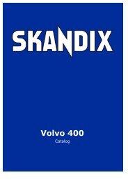 SKANDIX Catalog: Volvo 400 - SaabtuninG