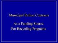 Municipal Refuse Contracts