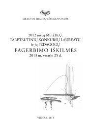 2012 m. tarptautinių konkursų laureatai.pdf - Lmrf.lt