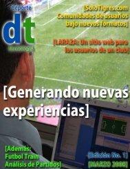 Deporte Tecnologia – Marzo 2008 (Formato PDF) - invicto TEAM