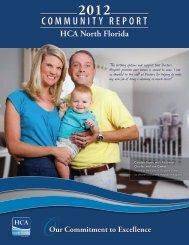 2012 Community Report - HCA North Florida