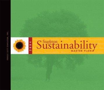 Stapleton Sustainability Master Plan