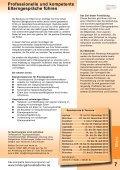 Fortbildungen 2013 für Erzieherinnen und Erzieher - Akademie für ... - Seite 7