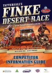 TFDR11 Competitor Guide.pdf - Finke Desert Race