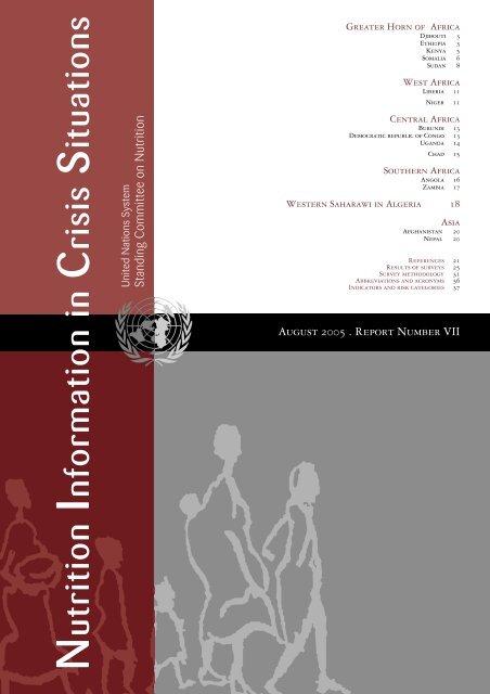 NICS Vol 7, August 2005 - United Nations