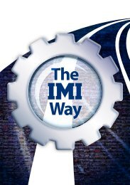 Zdravje in varnost - IMI plc