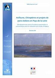 Avifaune, Chiroptères et projets de parcs éoliens en ... - LPO Sarthe