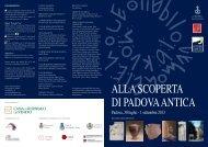 Programma - PadovaCultura - Comune di Padova