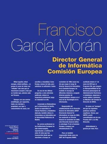 D. Francisco García - Revista DINTEL Alta Dirección