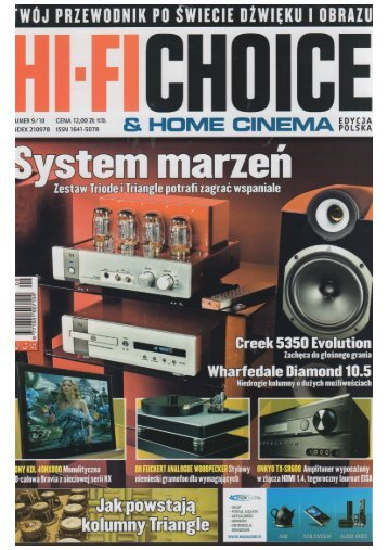HIFI CHOICE – Ayon CD-2s - Eter Audio