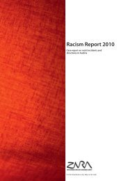 Racism Report 2010 - Zara