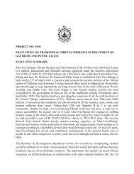 Pilot Study of Gastritis & Peptic Ulcer - Men-Tsee-Khang