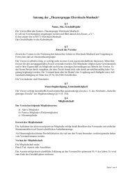 Satzung - Theatergruppe Ebersbach-Musbach eV