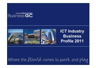 ICT Industry Business Profile 2011 - Business Gold Coast
