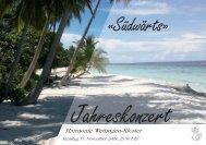 Programm - Harmonie Wettingen-Kloster