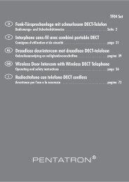 3. Lieferumfang (s. Abb. A und B) - Pentatech