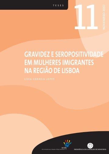 Gravidez e seropositividade em mulheres imigrantes na Região - Acidi