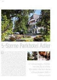 5 -Sterne Parkhotel Adler - Porsche Club Deutschland
