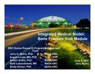 Bone Fracture Risk Module - Space Flight Systems - NASA
