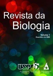 Revista de Biologia da USP - Fernando Santiago dos Santos