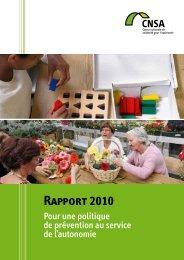 Rapport 2010 de la CNSA illustré - avec liens actifs