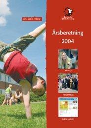 Årsberetning 2004 - Danmarks Bløderforening.