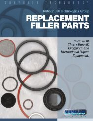 Filler Parts PDF - Rubber Fab Mold and Gasket